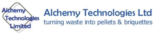 Alchemy Technologies Ltd - pellets, pelleting, briquetting, briquette